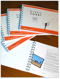 'Quero Voar' em edição impressa (especial para a rede Bookcrossing)